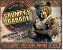 Grumpy's Garage Tin Sign