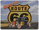 Route 66 Tin Sign