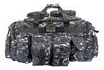 The Tank Duffle Bag - Blue Digital Camo