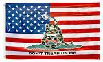3' x 5' Gadsden American Flag