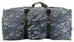 36 in Cargo Duffle Bag - Blue Digital Camo