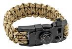 Master Sergeant Paracord Utility Bracelet  - Desert Digital Camo