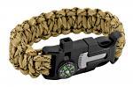 Sergeant Paracord Utility Bracelet  - Desert Digital Camo