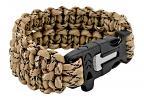 Corporal Paracord Utility Bracelet  - Desert Digital Camo