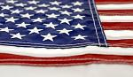 12 in x 18 in USA Embroidered Boat Flag