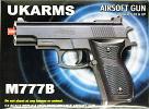 M777B Spring Airsoft Hand Gun