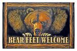 Bear Feet Welcome - Door Mat