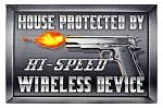 High Speed Wireless Device - Welcome Door Mat