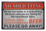 Unless You Are Giving Away Beer - Welcome Door Mat