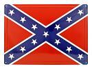 Confederate Flag Metal Sign