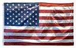 3' x 5' American U.S. Flag Kit with Pole