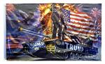 3' x 5' Trump Tank American Flag - Donald Trump Flag