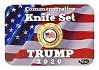 President Trump 2020 Commemorative Swiss Army Style Folding Pocket Knife Set