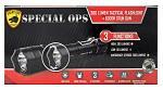Guard Dog Security Special Ops Tactical Stun Gun Flashlight - Black
