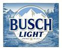 Busch Light Beer Bar Metal Tin Sign