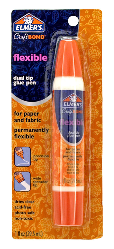 Elmer's Craft Bond Flexible Dual Tip Glue Pen