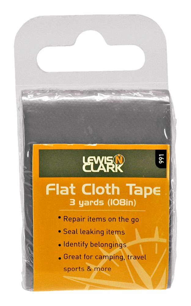 Flat Cloth Tape - Silver