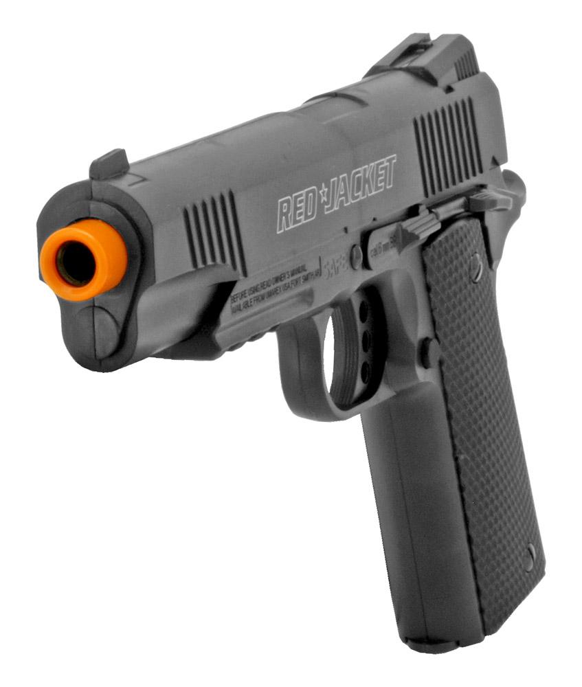 Red Jacket Airsoft Rifle and Handgun Set