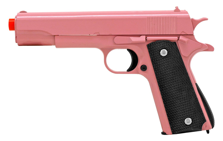 UKArms G13 Spring Powered Airsoft Handgun - Pink