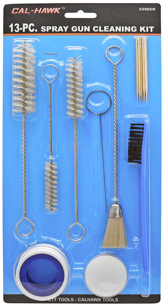13-pc. Spray Gun Cleaning Kit