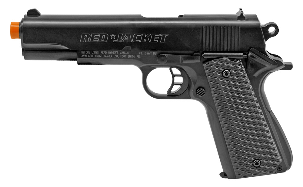Red Jacket 1911 Airsoft Handgun - Black