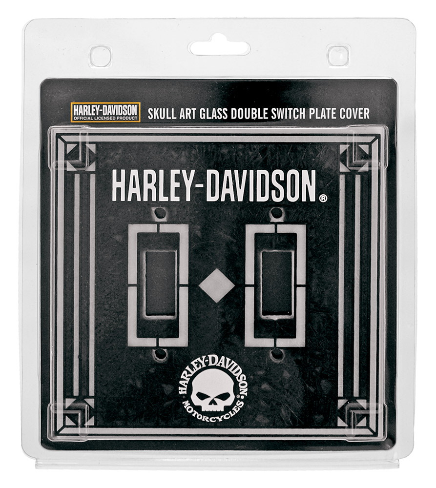 Harley-Davidson Glass Light Switch Cover