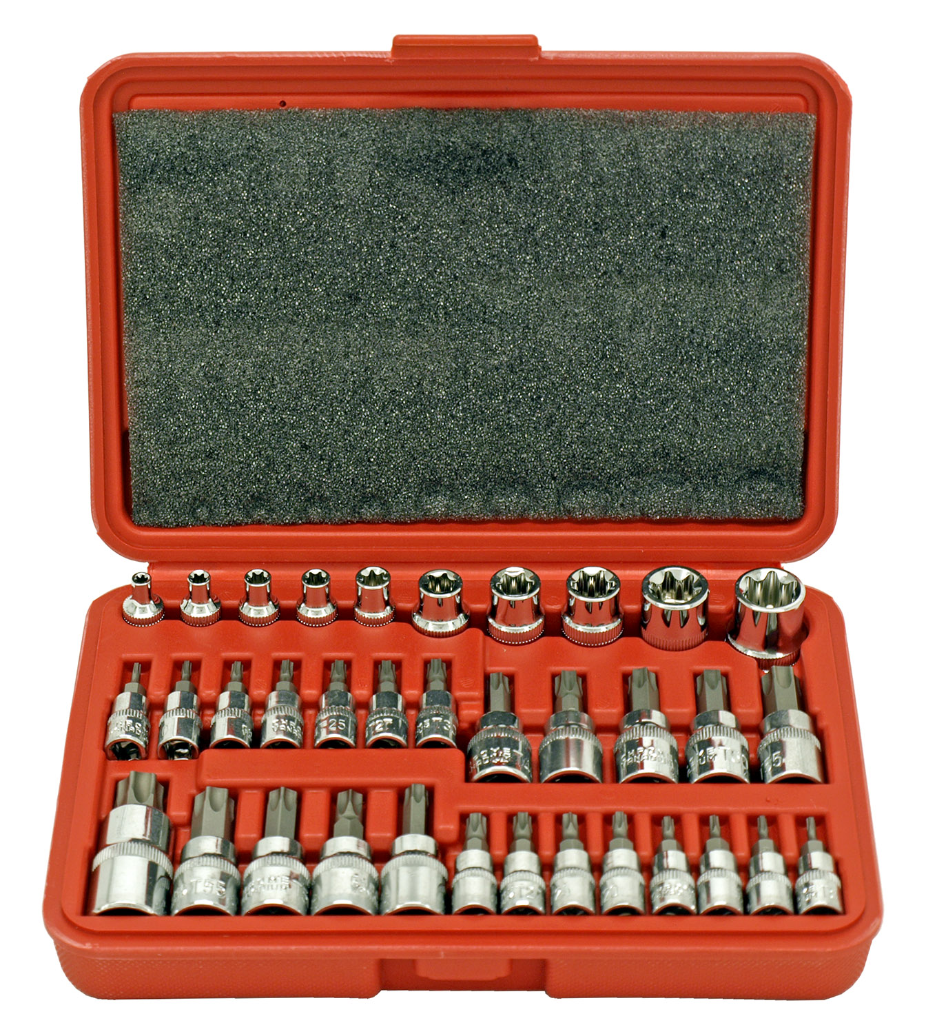 35 - pc. Star Bit and E-Socket Bit Set