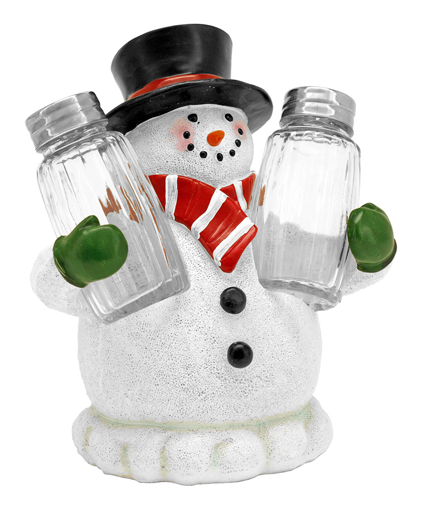 Festive Flavor Salt and Pepper Holder