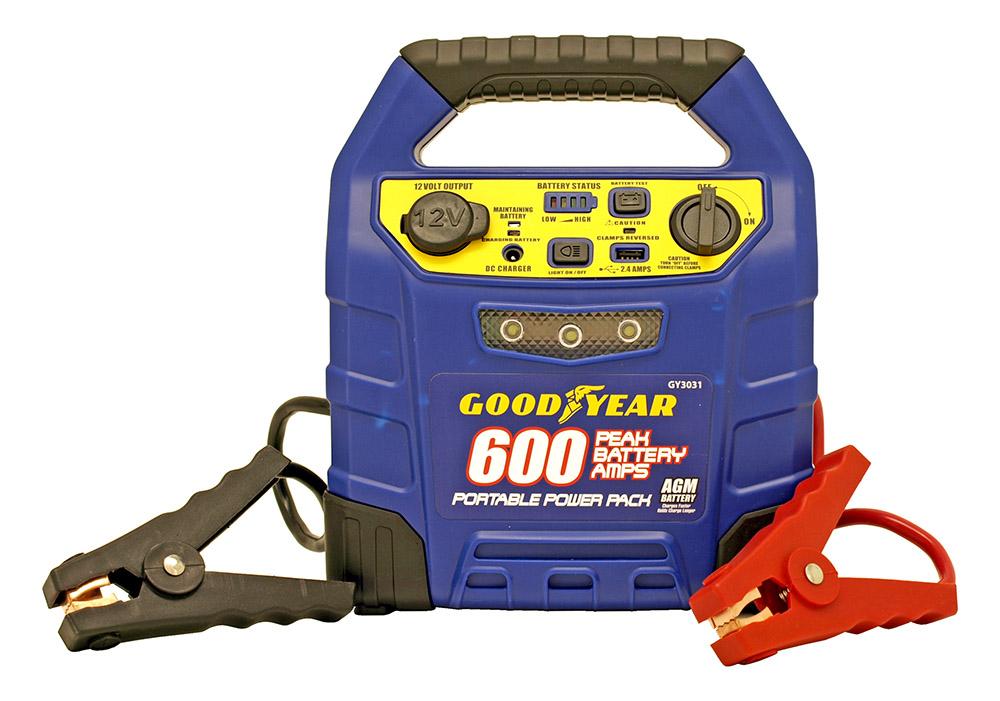 Goodyear 12 Volt Portable Jump Starter