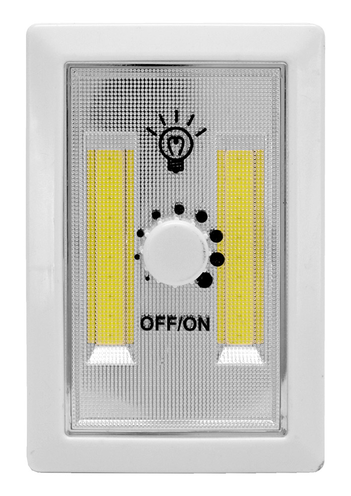 Wall Mount LED Light Dimmer Switch Night Light
