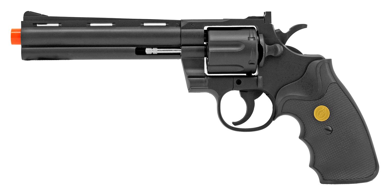 UKArms Revolver Airsoft Gun G36B - Black
