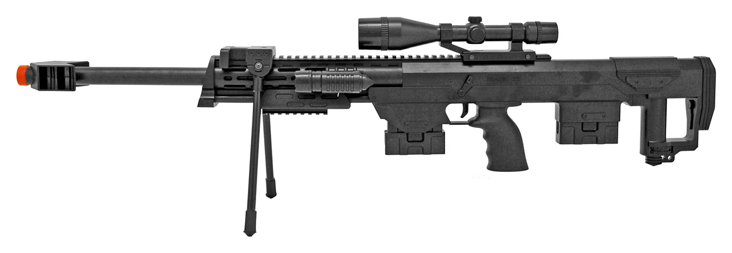 UKArms P1050 Airsoft Sniper Rifle and Handgun Set