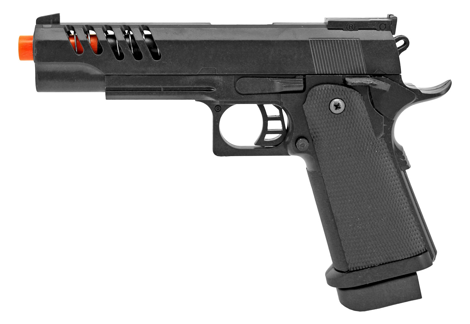 UKArms Airsoft Handgun P2004A - Black