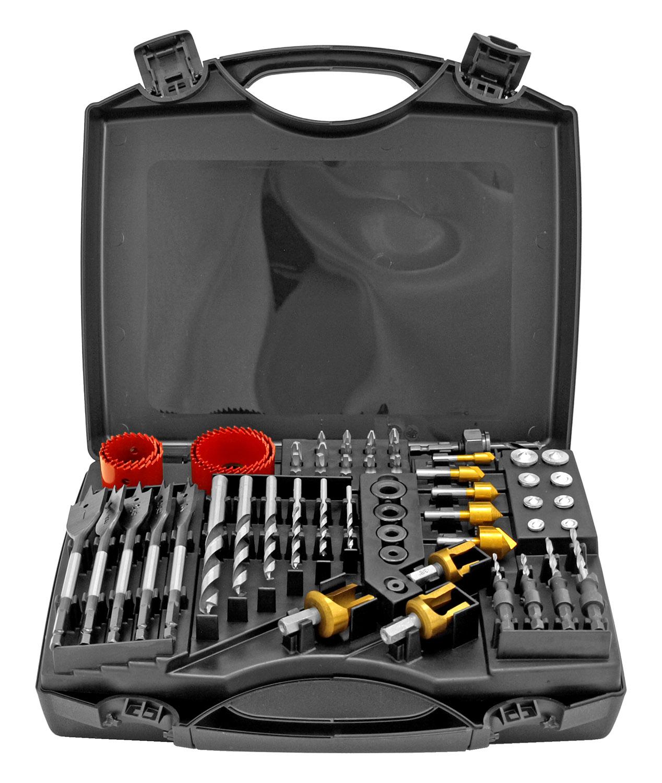 55 - pc. Mastercraft Woodworking Kit