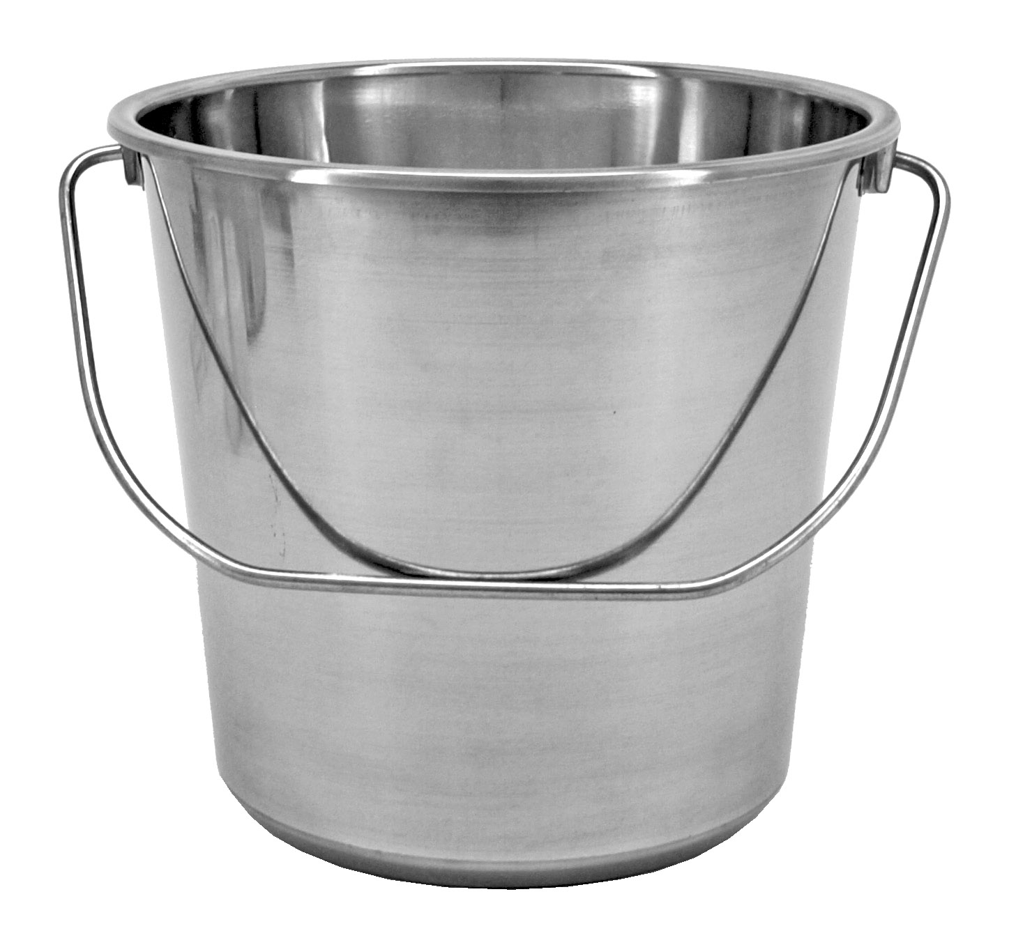 2.37 Gallon Stainless Steel Bucket