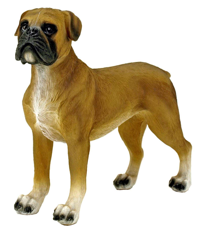 Brutus - Boxer Dog Statue