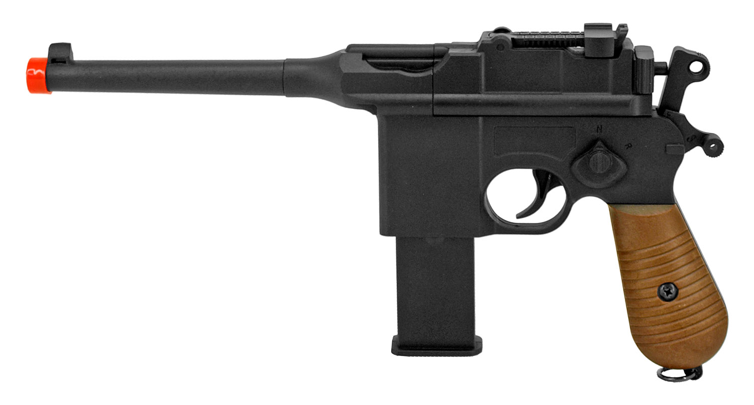 UKArms P2712 Luger Airsoft Pistol - Remanufactured