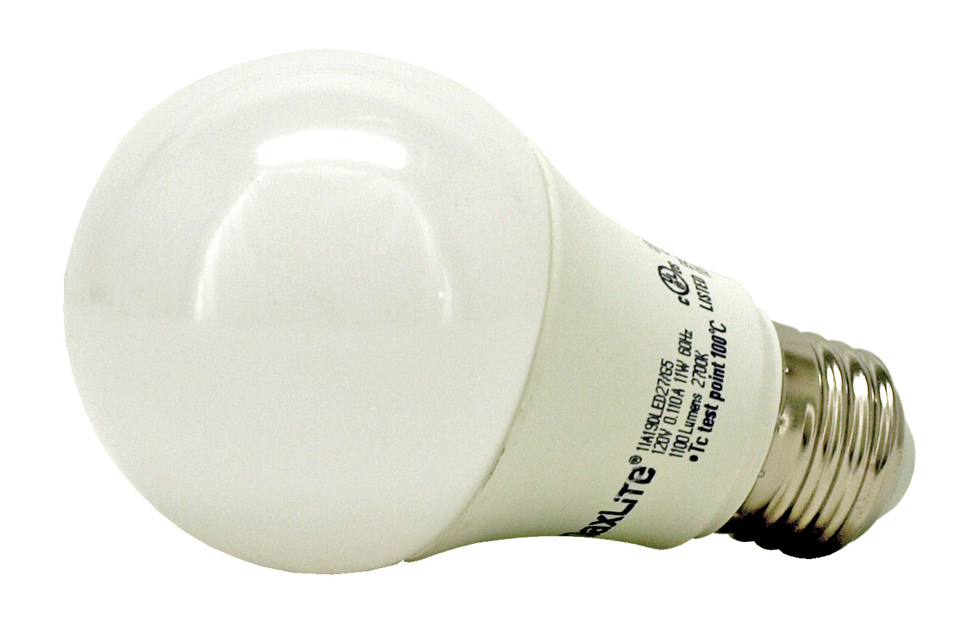 A19 LED Light Bulb - 1100 Lumens - 2700k