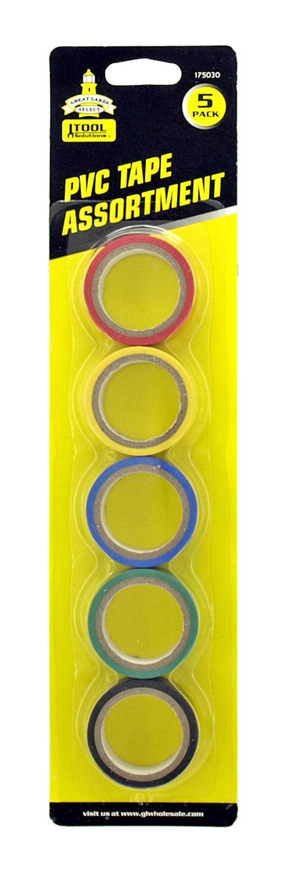 5 - pk. PVS Tape Assortment