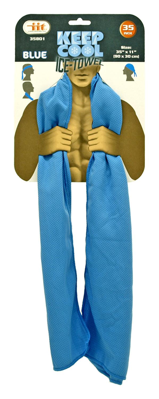 Keep Cool Ice Towel - Blue