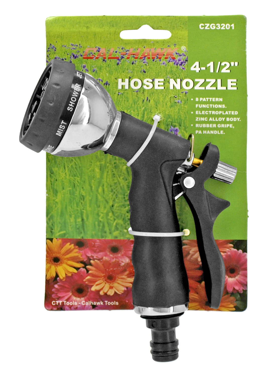 Cal-Hawk 7.25 in Hose Nozzle