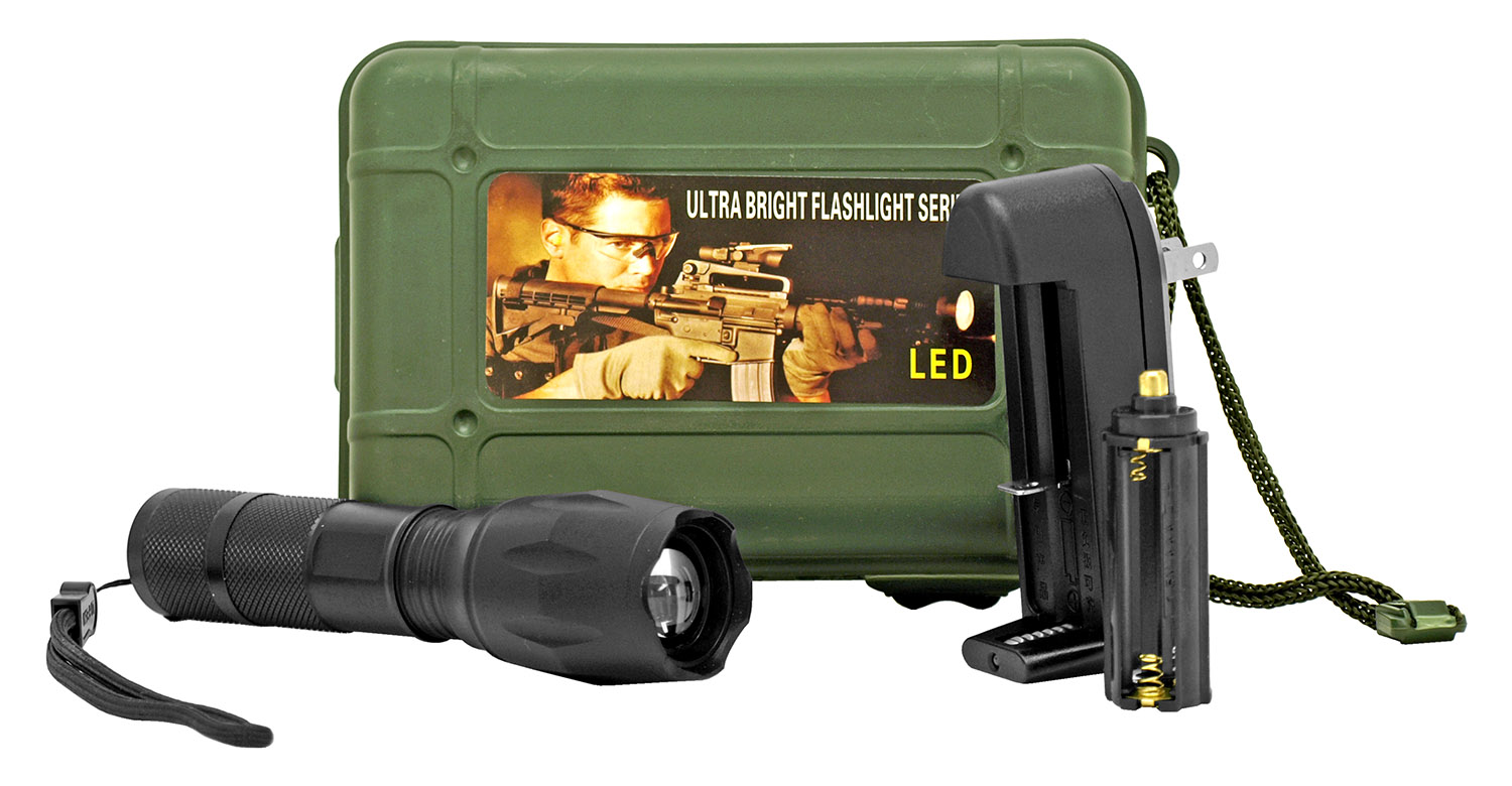 Ultra Bright LED Tactical Flashlight