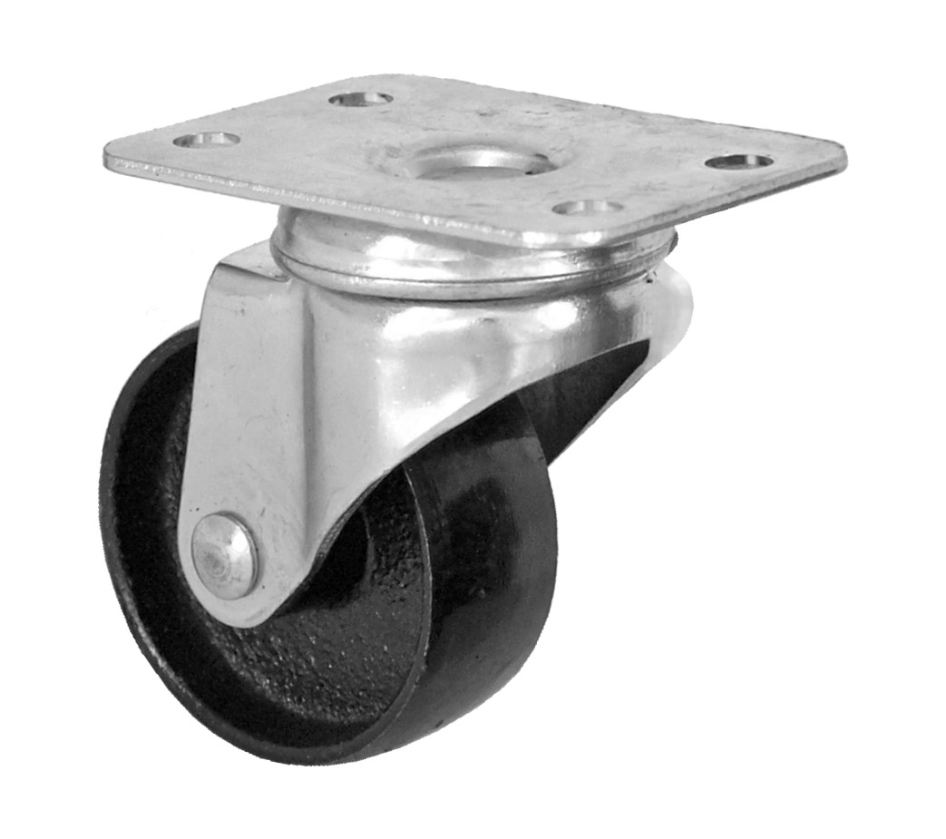 Cal-Hawk 2 in Swivel Metal Caster