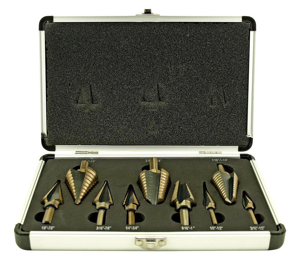9 - pc. Step Drill Set - SAE