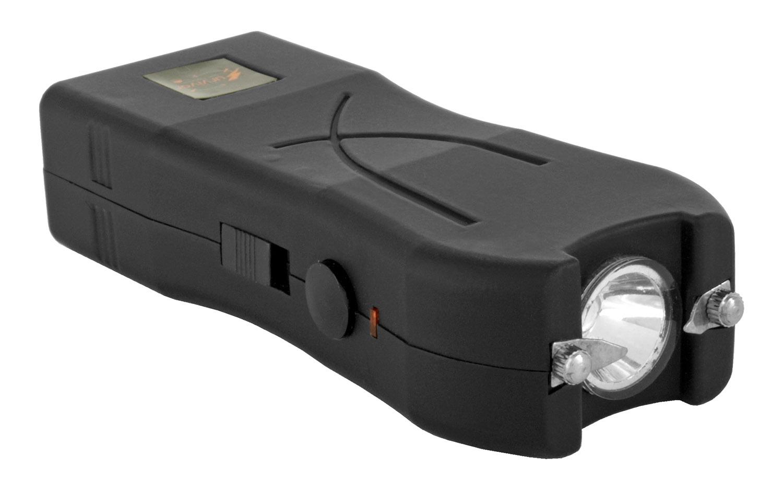 Survivor Multi-Functional Stun Gun with LED Flashlight - Black