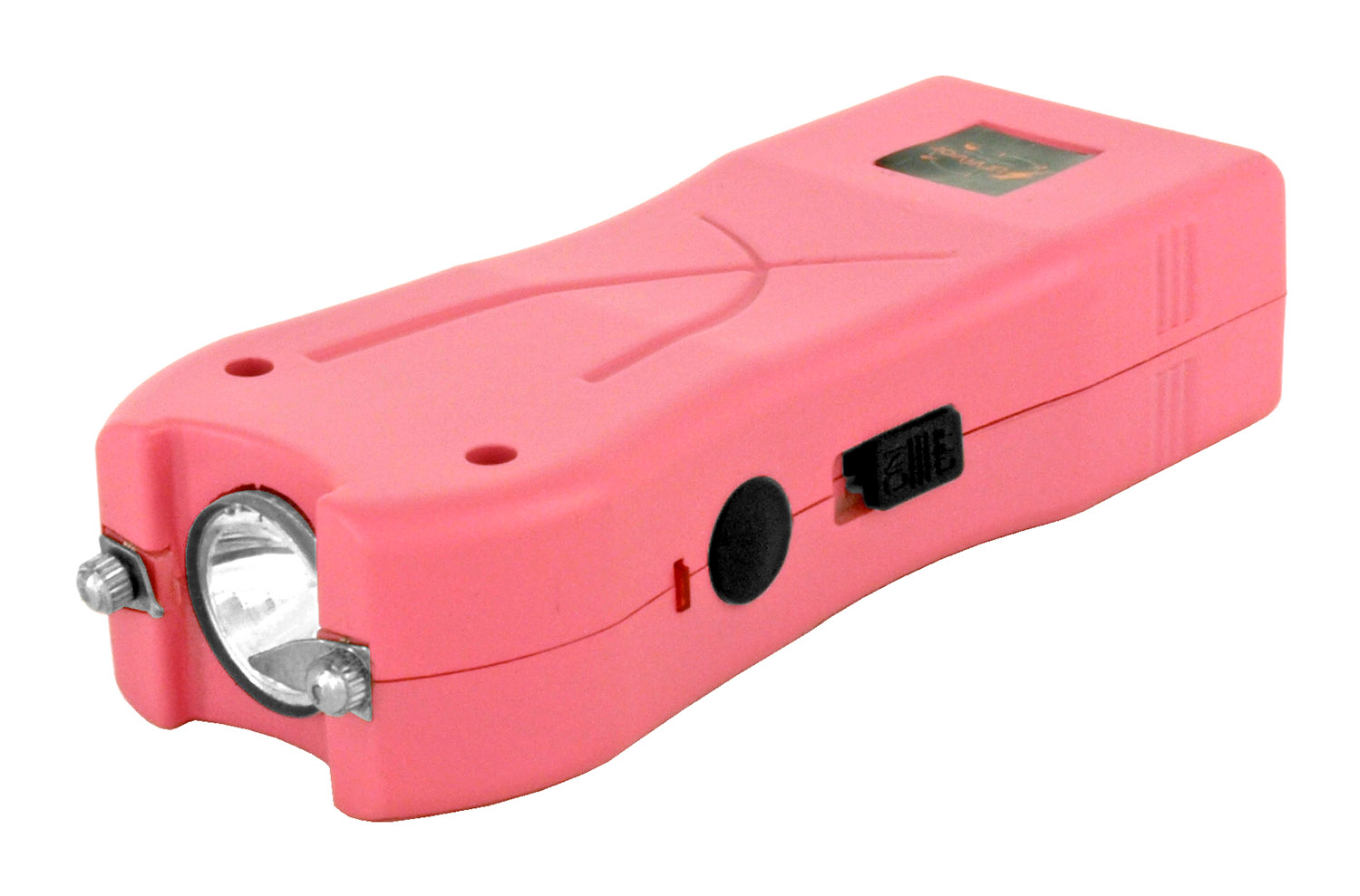 Survivor Multi-Functional Stun Gun with LED Flashlight - Pink