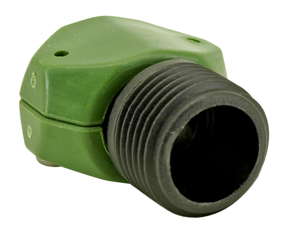 5/8 in - 3/4 in Male Coupler Garden Hose End