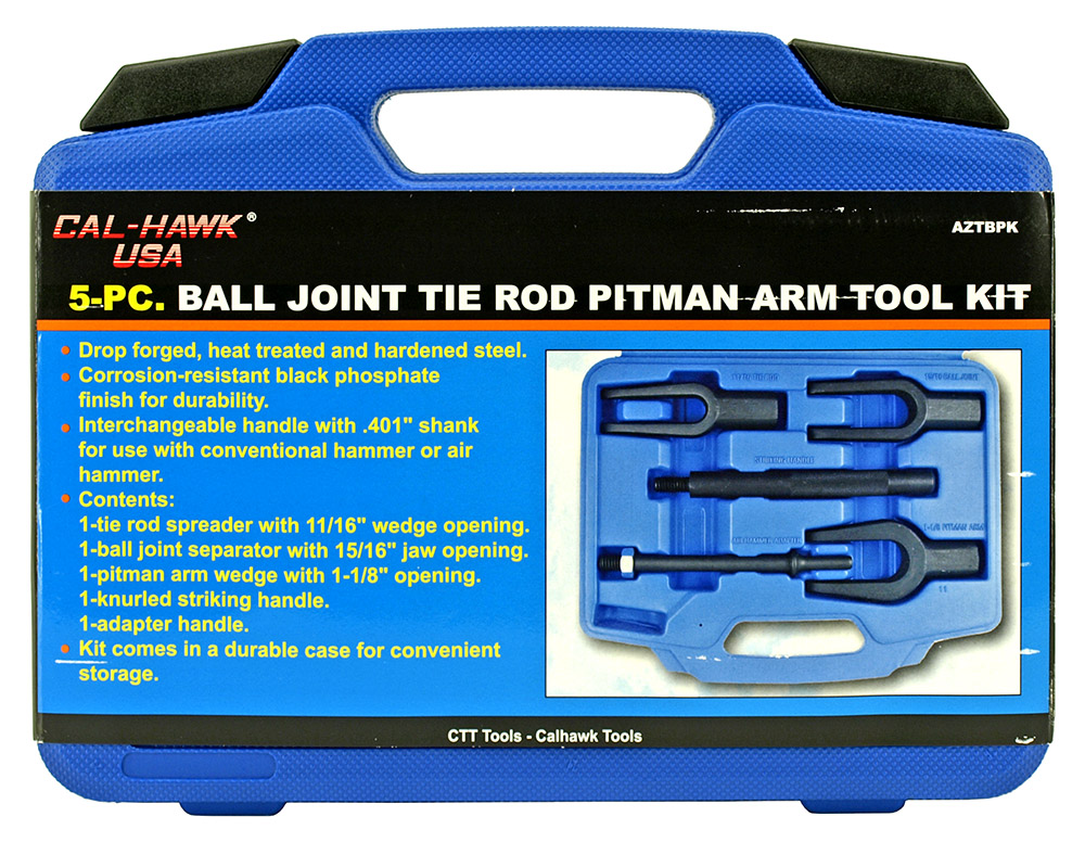 5 - pc. Ball Joint Tie Rod Pitman Arm Tool Kit
