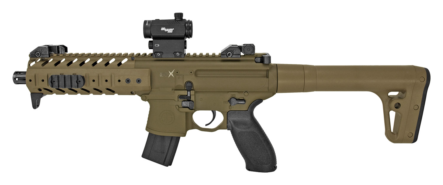 Sig Sauer MPX Pellet CO2 Air Rifle - Desert Tan - Refurbished