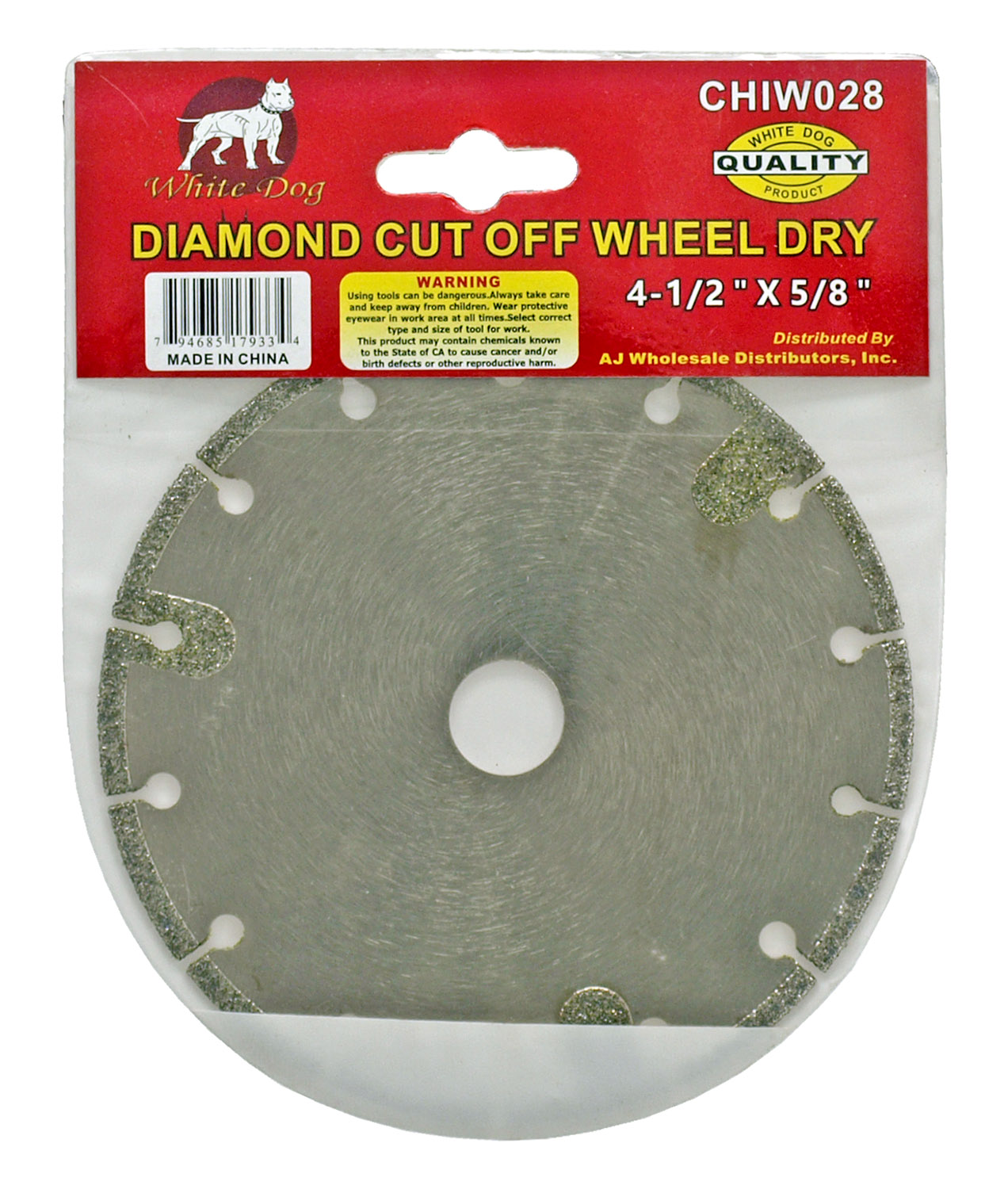 Diamond Cut Off Wheel Dry